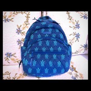 Vera Bradley Sea Turtles Mini Backpack